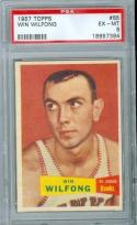 1957 Topps Win Wilfong 65 psa 6 hawks