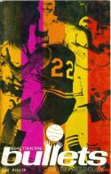 1968-1969 Baltimore Bullets  Media Press Guide nm