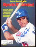 1982 4/12 Steve Garvey  Los Angeles Dodgers signed sports Illustrated em