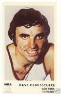 1972 Icee bear card mint Dave Debusschere New York Knicks