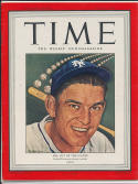 1945 Time Magazine No label newsstand Mel Ott Giants nm clean