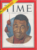 1951 Time Magazine No label newsstand Sugar Ray Robinson nm