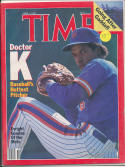 1986 Time Magazine No label newsstand Dwight Gooden Mets NM