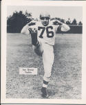 1953 Cleveland Browns Lou Groza Team Issued card nm