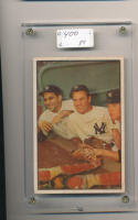 1953 Bowman Mickey Mantle Yogi Berra 44