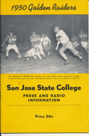 1950 San Jose State College Football Press media Guide      bx pre67
