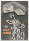 1956 1957 New York Knicks Press media Guide      bx cg1