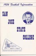 1956 San Jose State  College Football Press media Guide   bx pre67