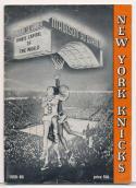 1958 1959 New York Knicks Press media Guide      bx cg1