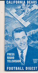 1960 California Bears College Football Press media Guide      bx cg2