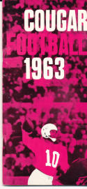 1963 Washington State Cougar College Football Press media Guide      bx cg2