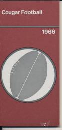 1966 Washington State Cougar College Football Press media Guide      bx cg2