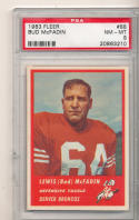 Bud McFadin Denver Bronco's 1963 Fleer Football #88  psa 8