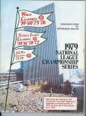 1979 NLCS Reds Phillies Championship program