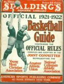 1921 - 1922 Spalding Basketball Guide ex (spine wear)