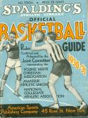 1930 - 1931 Spalding Basketball Guide
