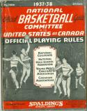 1937 - 1938 Spalding Basketball Guide ex (corner crease)