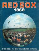 Boston Red Sox 1969 Baseball Yearbook | Box yb