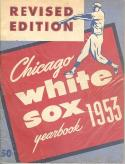 Chicago White Sox 1953 Baseball Yearbook - Revised Edition | Box yb