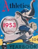 1953 Philadelphia Athletics Baseball Yearbook
