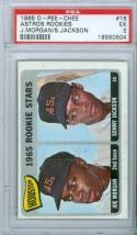 1965 o-pee-chee Joe Morgan Astros Rookies psa 5  ex #16 topps baseball card