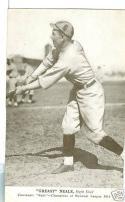 1919 Greasy Neale Reds Exhibit blank card Football HOF