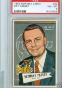 1952 Bowman Large Ray Parker #84 psa 8 Lions NM-mt