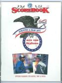 1989 ALCS A's Blue Jays Tony La Russa program
