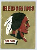 1950 Washington Redskins Football Press Guide NFL