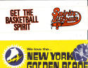 Spirit of St.Louis  ABA  bumper Sticker 1970's