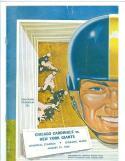 1954 Cardinals Giants football program Spokane