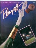 1983 ALCS Whitesox Orioles program nm