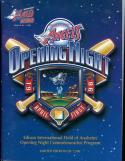 1998 Angels Opening Night special Program 1 of 7,500