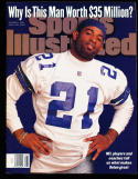 1995 10/9 Deion Sanders Dallas Cowboys mint sports illustrated