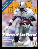 1995 9/18 Emmitt Smith  Dallas Cowboys mint sports illustrated