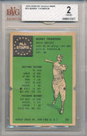 Bobby Thomson milwaukee Braves 1955 Robert Gould W605 #23  bvg 2 good