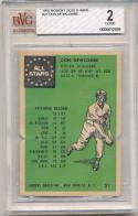Don Newcombe Brooklyn dodgers #21 1955 Robert Gould 2605 bvg 2 good grade