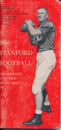 1960 Stanford football press media guide em
