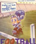 10/5/ 1948 Dodgers vs bills special release program