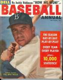 1956 Dell Baseball Annual Pee Wee Reese Near mint