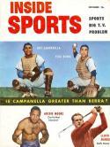 November 1953 Inside Sports Roy Campanella, Yogi Berra nm!
