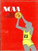 1972 NCAA final Four Basketball Program