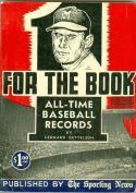 1955 The Sporting News Baseball Record book Joe Adcock