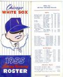 1955 Chicago White Sox  Spring Training Roster  em