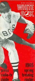 1965 Chicago White Sox press media guide em-nm