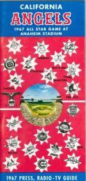 1967 Los Angeles Angels  press media guide nm  (bx guide60)