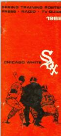 1968 Chicago White Sox press media guide  (bx guide60)