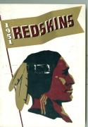 1951 Washington Redskins Press Media Guide ex