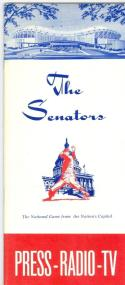 1963 Washington Senators press media guide em  (bx guide60)