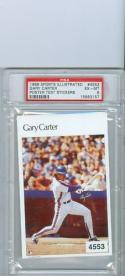 Gary Carter Sports Illustrated test Sticker psa 6.5